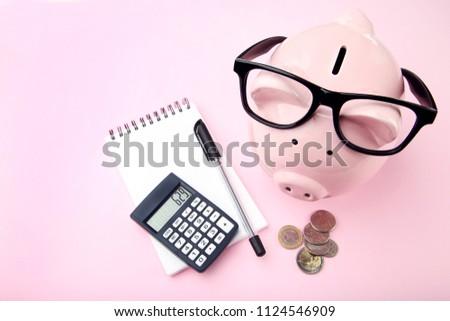 電卓 着用 眼鏡 デスク 金融 ストックフォト © AndreyPopov