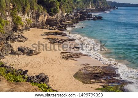 Praia bali ilha Indonésia água natureza Foto stock © galitskaya