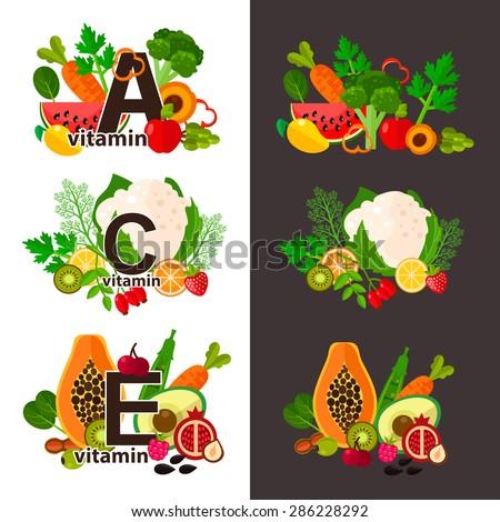 Taze organik sebze vejetaryen diyet vektör Stok fotoğraf © RAStudio