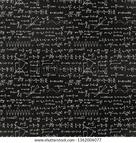 Fundamenteel math formules witte krijt school Stockfoto © evgeny89