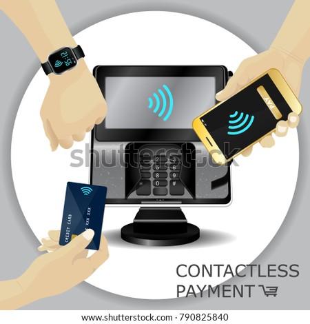 набор реалистичный оплата дебет кредитных карт торговых Сток-фото © evgeny89