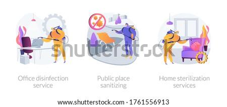 домой услугами аннотация дома очистки поверхность Сток-фото © RAStudio