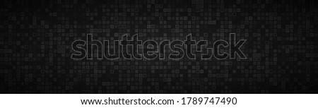 черный аннотация прозрачный мозаика Сток-фото © kurkalukas