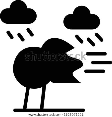 Nuvem gota de chuva chuvoso dia ícone tempo Foto stock © Imaagio