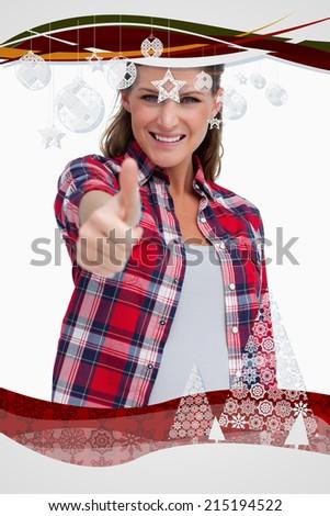 portré · nő · remek · fehér · mosoly · arc - stock fotó © wavebreak_media
