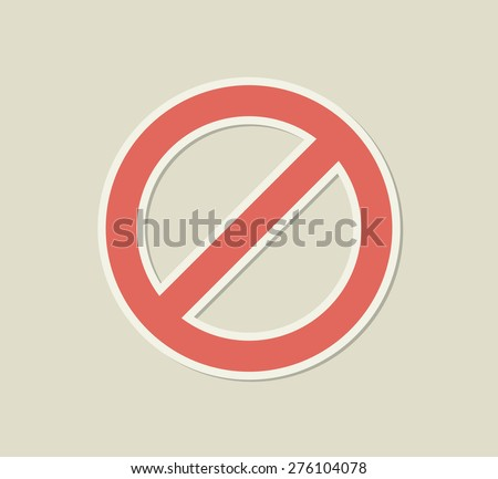 prohibited signs paper sticky stock photo © ecelop