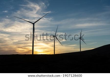 vent · pouvoir · ciel · bleu · nature · métal · domaine - photo stock © meinzahn