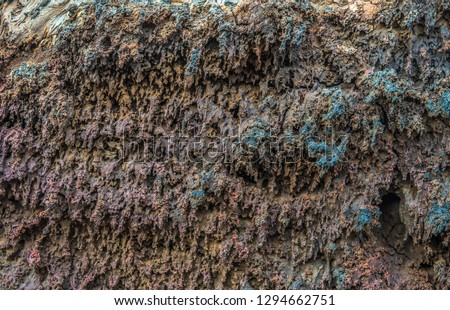 old volcanic stone in Timanfaya national park in detail Stock photo © meinzahn