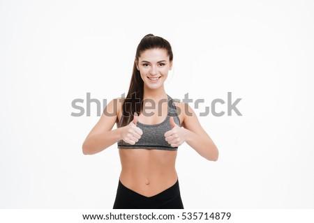 dans · kadın · atlamak · mutlu · spor - stok fotoğraf © deandrobot