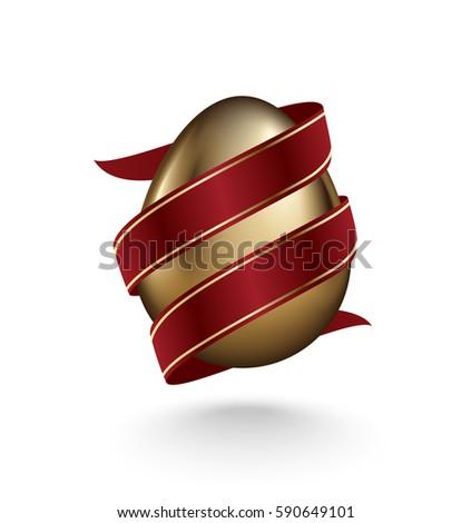 kellemes · húsvétot · tojás · tükröződés · kártya · vektor · formátum - stock fotó © iaroslava