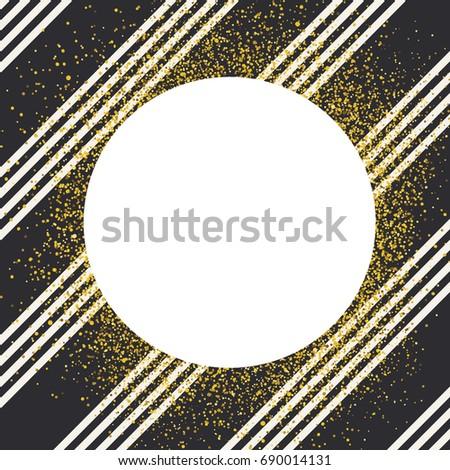 Invitation card design template. Diagonall thin black lines seam Stock photo © pashabo
