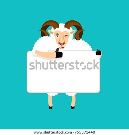 Kos tart szalag birka fehér haszonállat Stock fotó © popaukropa