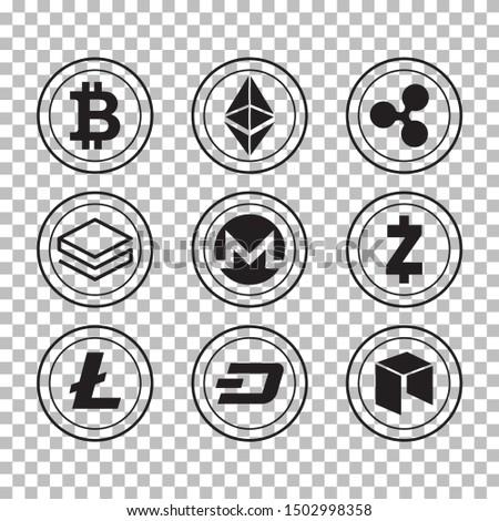 Dijital vektör bitcoin detay ayrıntılı örnek Stok fotoğraf © frimufilms