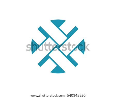 iş · kurumsal · logo · mektup · kare · daire - stok fotoğraf © taufik_al_amin