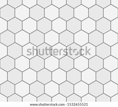 белый серый плитка бесшовный текстуры геометрический Сток-фото © ExpressVectors