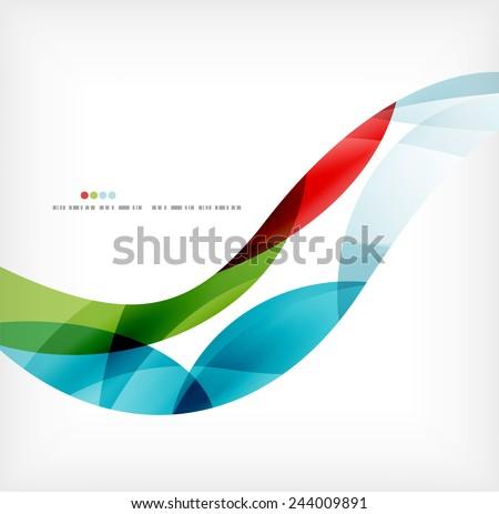 verde · ondas · escuro · vetor · projeto - foto stock © kyryloff