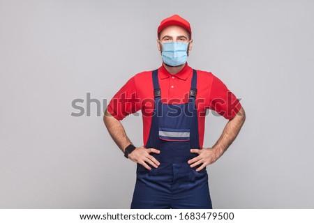 Kezek mérnök javítás szolgáltatás tart piros Stock fotó © pressmaster