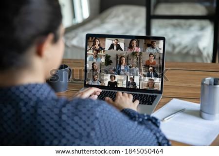 背面図 混血 ビジネスマン ビジネス セミナー ストックフォト © wavebreak_media