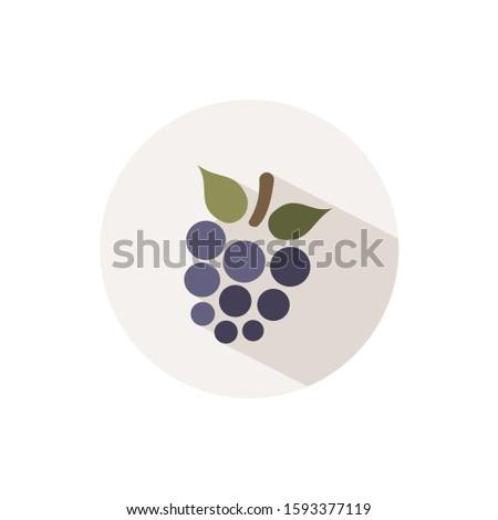 BlackBerry icône ombre beige cercle automne Photo stock © Imaagio