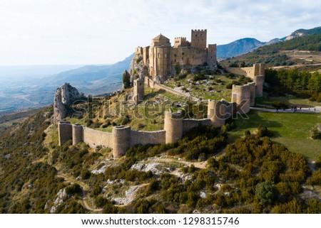 城 スペイン 修道院 地域 1 城 ストックフォト © borisb17