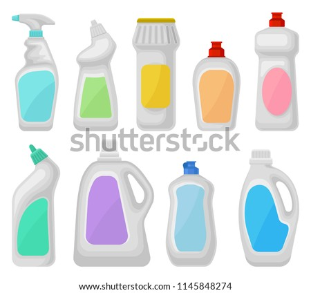 Hygiene products. Cleaning, washing powder, cleanliness, bath, hygiene, health care, self isolation Stock photo © foxbiz
