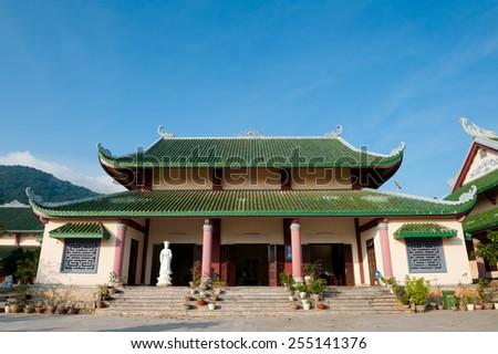 Buddhist temple in Danang, Vietnam Stock photo © bloodua