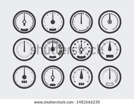 device for measuring pressure tonometer icon vector illustration Stock photo © pikepicture