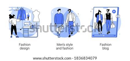 Fashion blog vector concept metaphor Stock photo © RAStudio