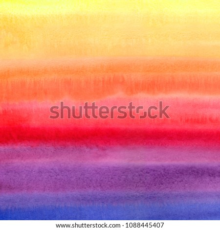 watercolor background with stripes in blue, pink, violet and dar Stock photo © cherju