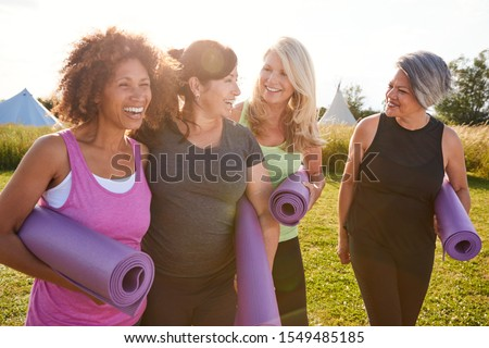 woman exercising on a mat stock photo © photography33