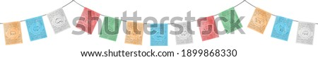 Tibetan prayer flags  Stock photo © haraldmuc