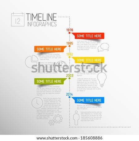 Vektör modern tasarım şablonu bilgi zamanlamak uzay Stok fotoğraf © vitek38