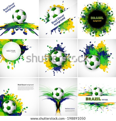 Brasil · bandeira · verde · país · américa · conceito - foto stock © bharat