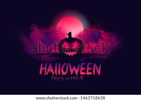 Хэллоуин · баннер · Ghost · Scary · дизайна · ночь - Сток-фото © davidarts