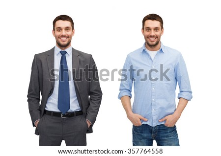young positive man isolated on white stock photo © elnur