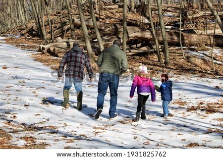 деда внучка стороны лес Сток-фото © wavebreak_media