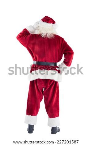 Дед · Мороз · мышления · борода · Рождества · характер · ребенка - Сток-фото © IvanDubovik
