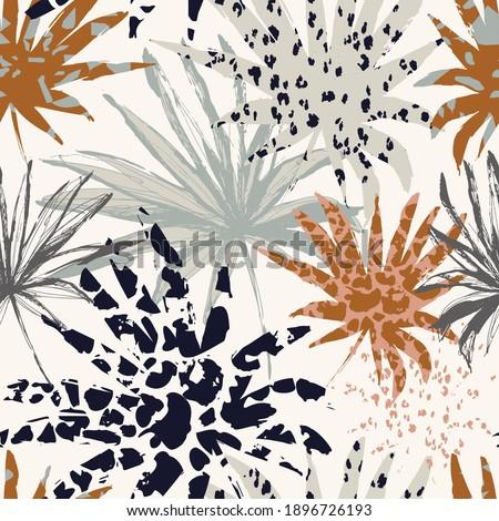 Abstract blot seamless pattern. Trendy paint background. Art bac Stock photo © Terriana
