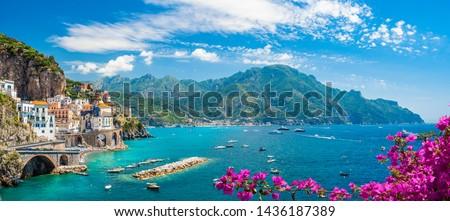 Amalfi coast Stock photo © Alex9500