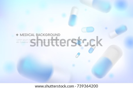 Vetor pílulas cápsulas medicina dietético Foto stock © user_10144511