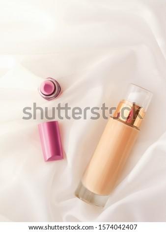 Stock photo: Tonal Bb Cream Bottle Make Up Fluid Foundation Base For Nude Ski