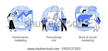 Promotional mix vector concept metaphor Stock photo © RAStudio