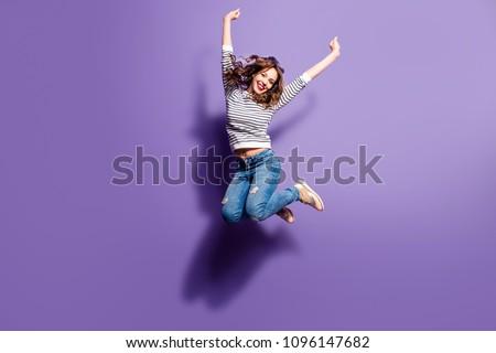 女性 · ジャンプ · 美しい · 小さな · ビジネス女性 · ジャンプ - ストックフォト © smithore