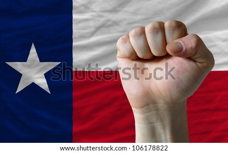 complete waved flag of american state of texas for background   Stock photo © vepar5