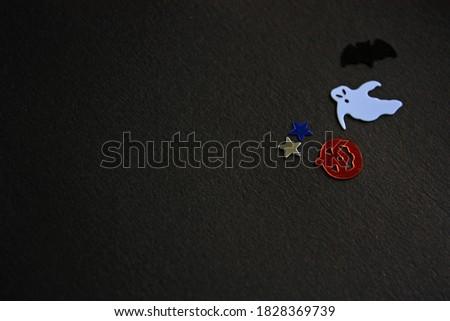 Brilhante colorido feliz halloween reflexão abóbora Foto stock © bharat