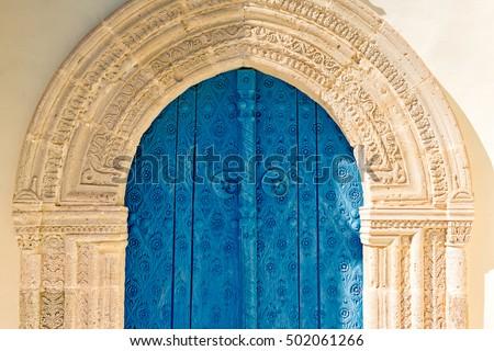 velho · trancado · porta · aldeia · casa · textura - foto stock © kirill_m