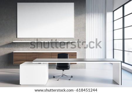 3d · render · irodai · asztal · sikeres · üzlet · kávé · mobiltelefon - stock fotó © danilo_vuletic