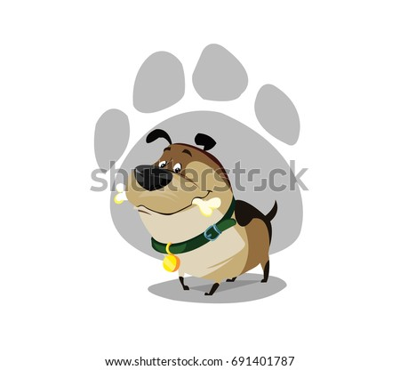 Digital Vector Funny Comic Cartoon Foto stock © FrimuFilms