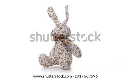 rajz · illusztráció · kicsi · nyúl · gyermek · nyúl - stock fotó © lady-luck