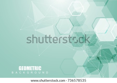 Molecule connection structure of neurons chain. Abstract medicine, science, technology background Stock photo © designleo